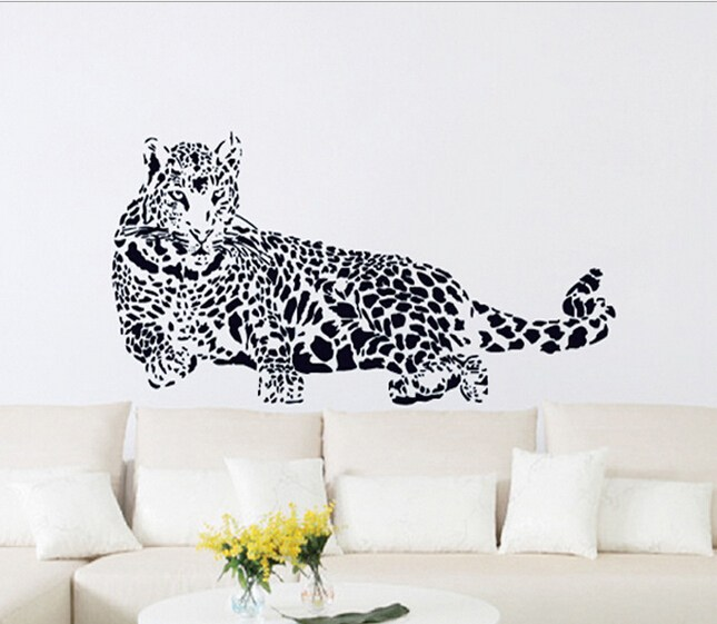 Leopard Wall Art Decal Home Decor