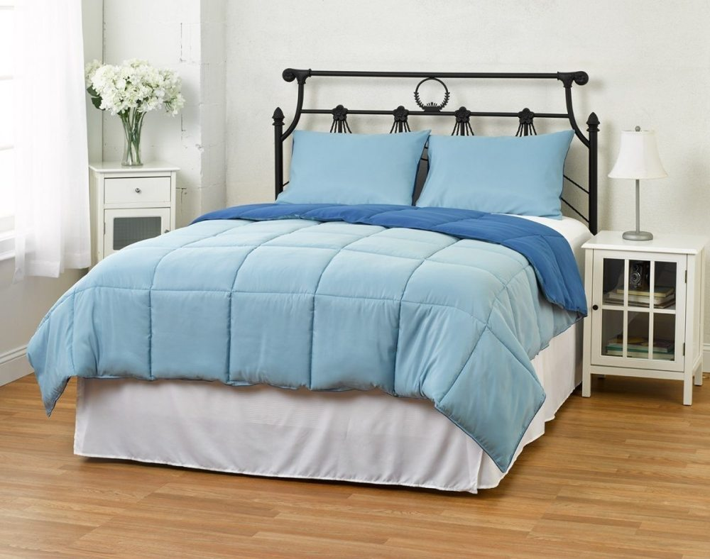 Light Blue Comforter Set