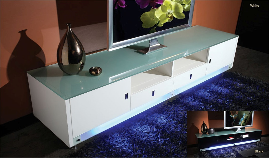 Light Blue Tv Stand