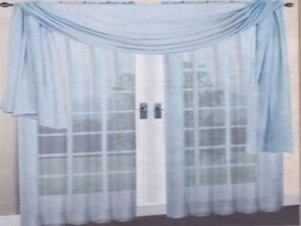 Light Blue Valance