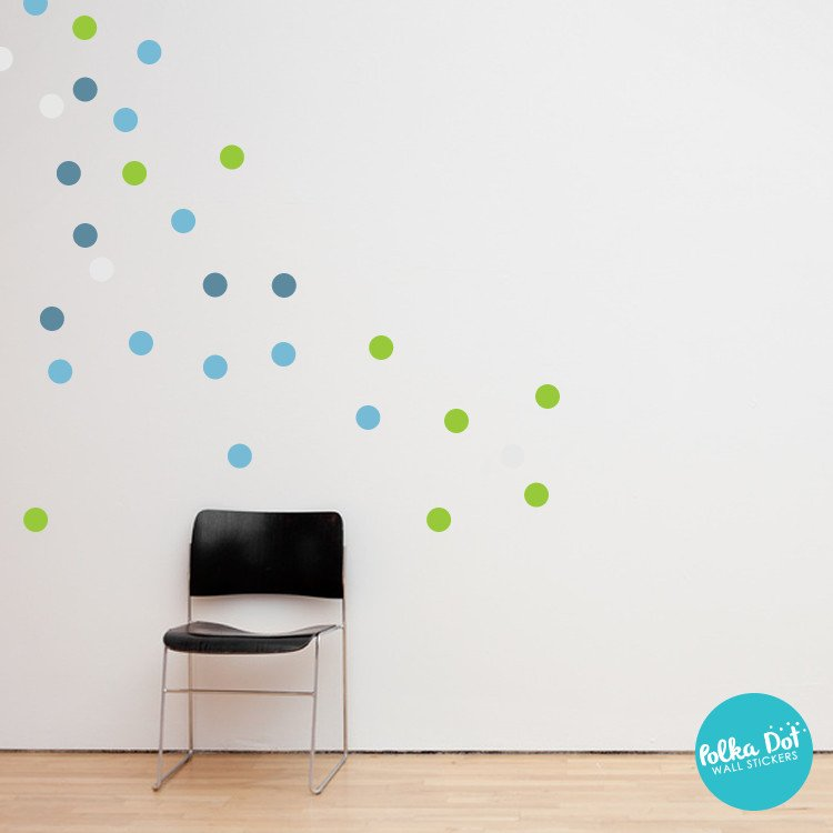 Light Blue Wall Decals
