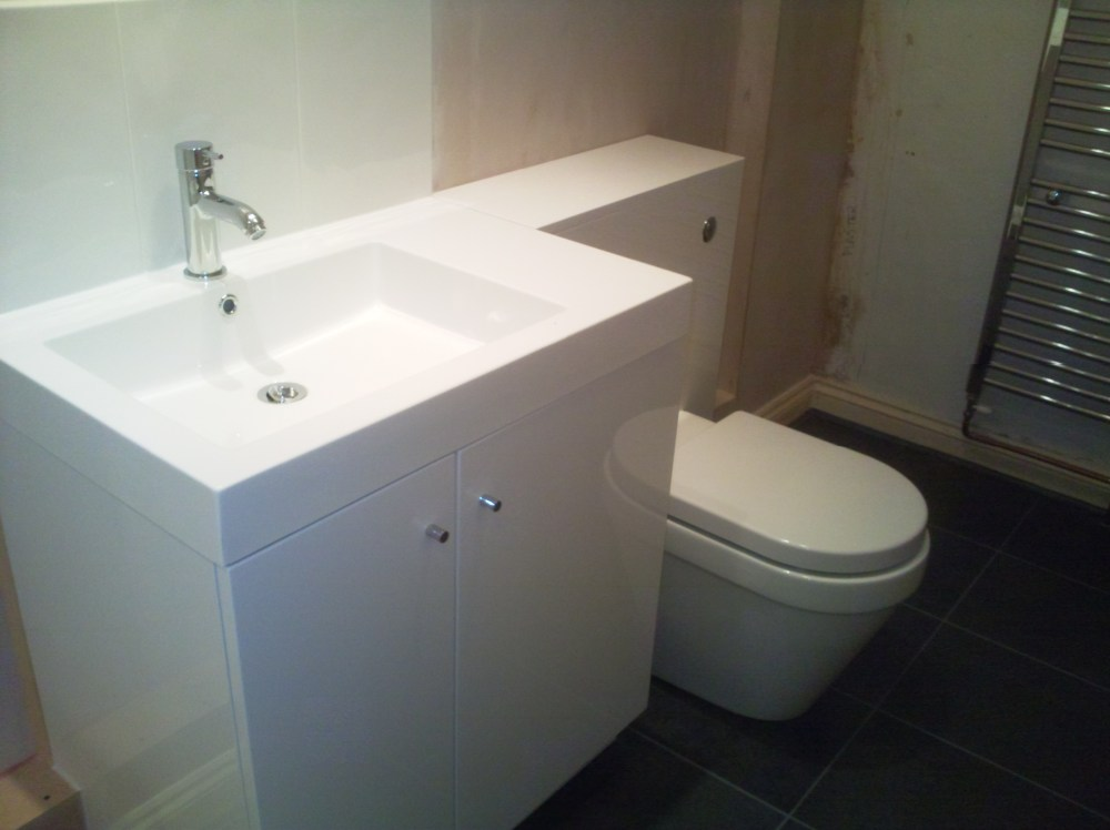 Light Grey Bathroom Cabinets