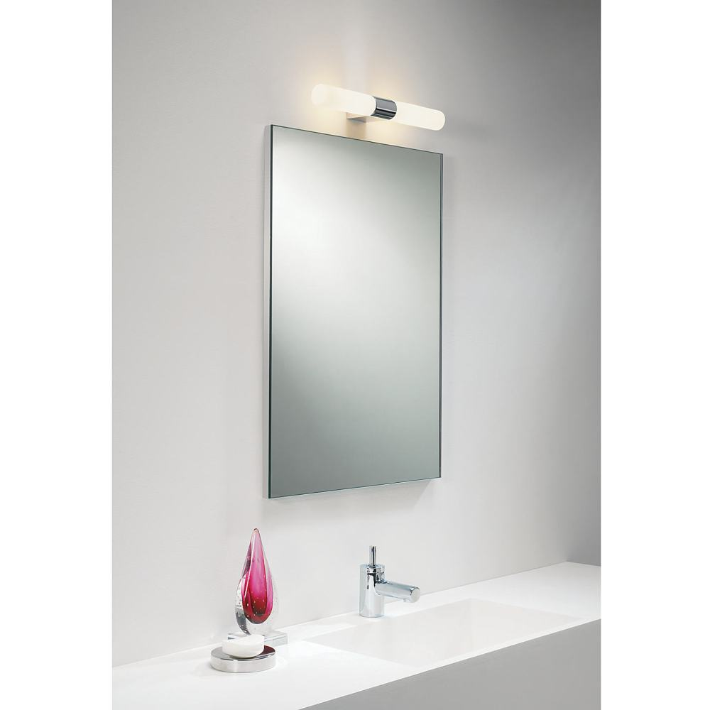 Light Over Mirror In Bathroom