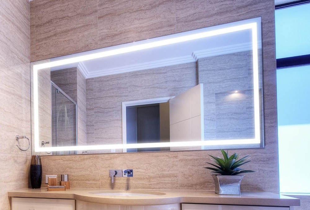 Lighted Bathroom Mirror Home Depot