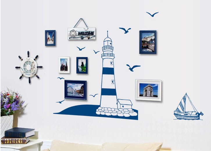 Lighthouse Wall Decal