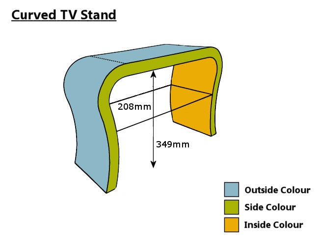 Lime Green Tv Stand
