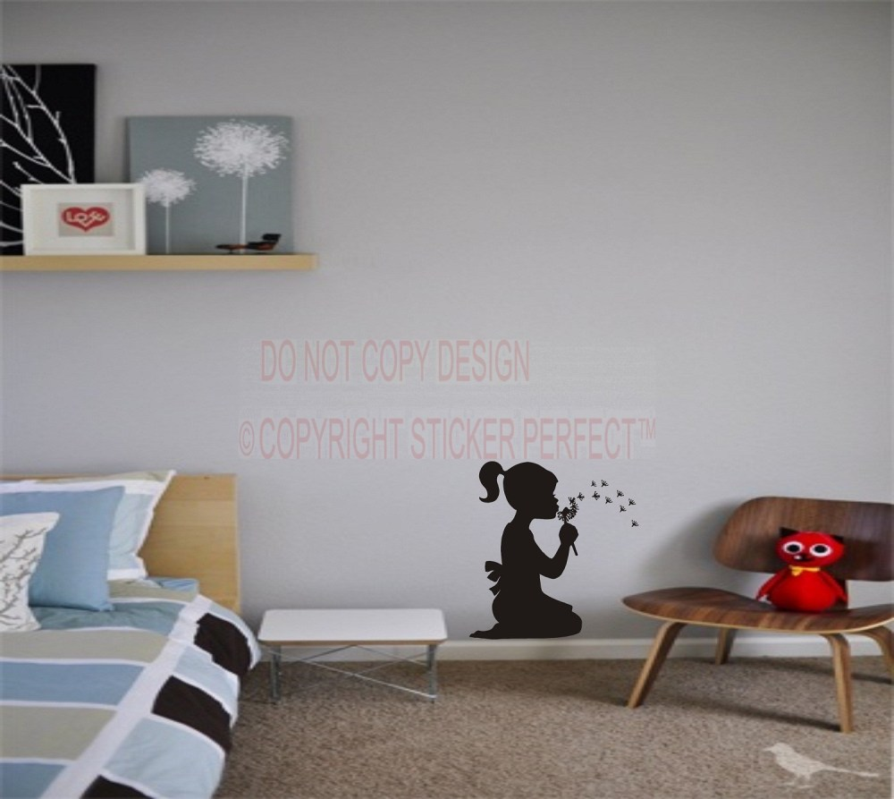 Little Girl Quotes Wall Decals