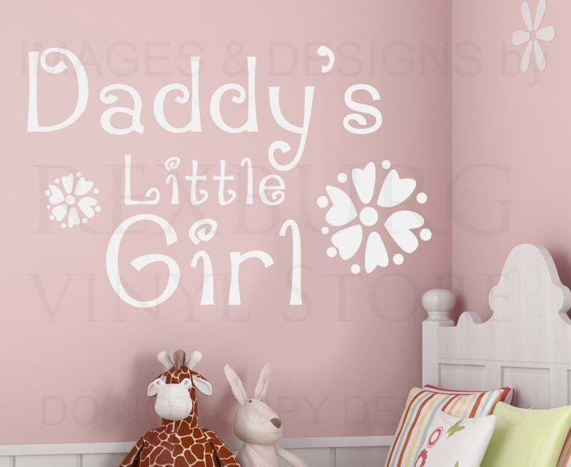 Little Girl Wall Decal Quotes