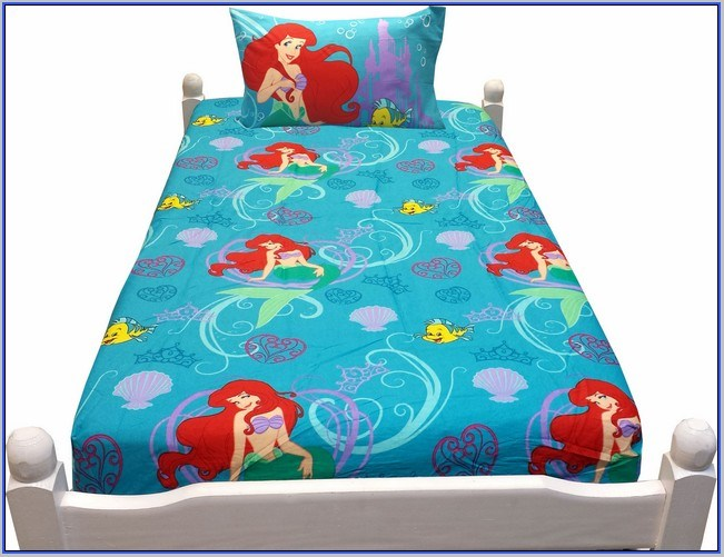 Little Mermaid Comforter Set Full