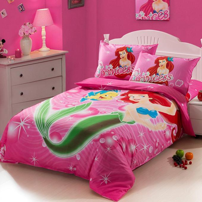 Little Mermaid Twin Comforter Set