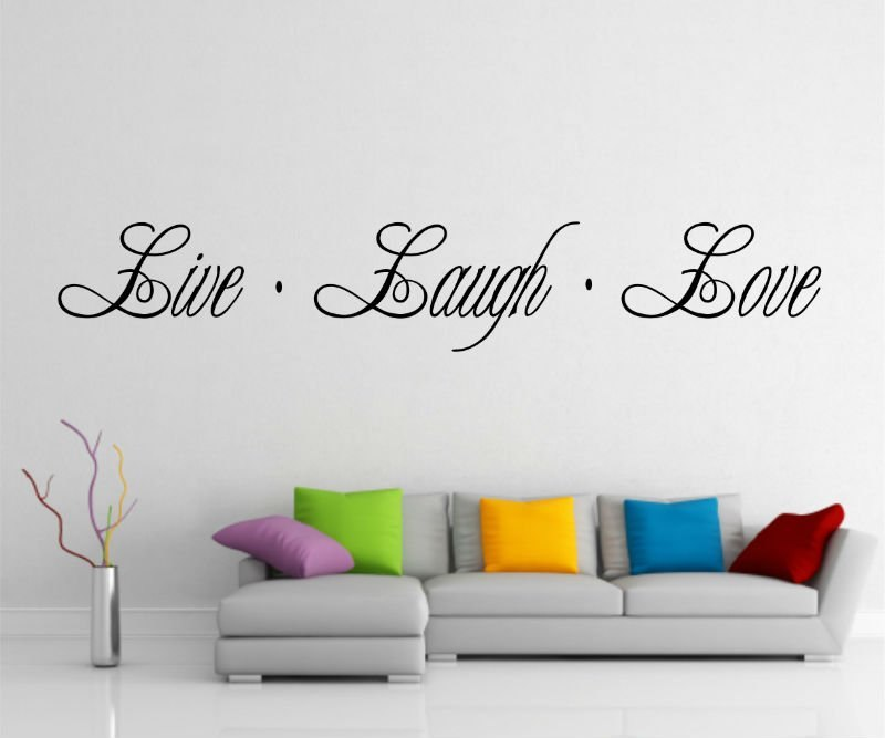 Live Love Laugh Wall Decals
