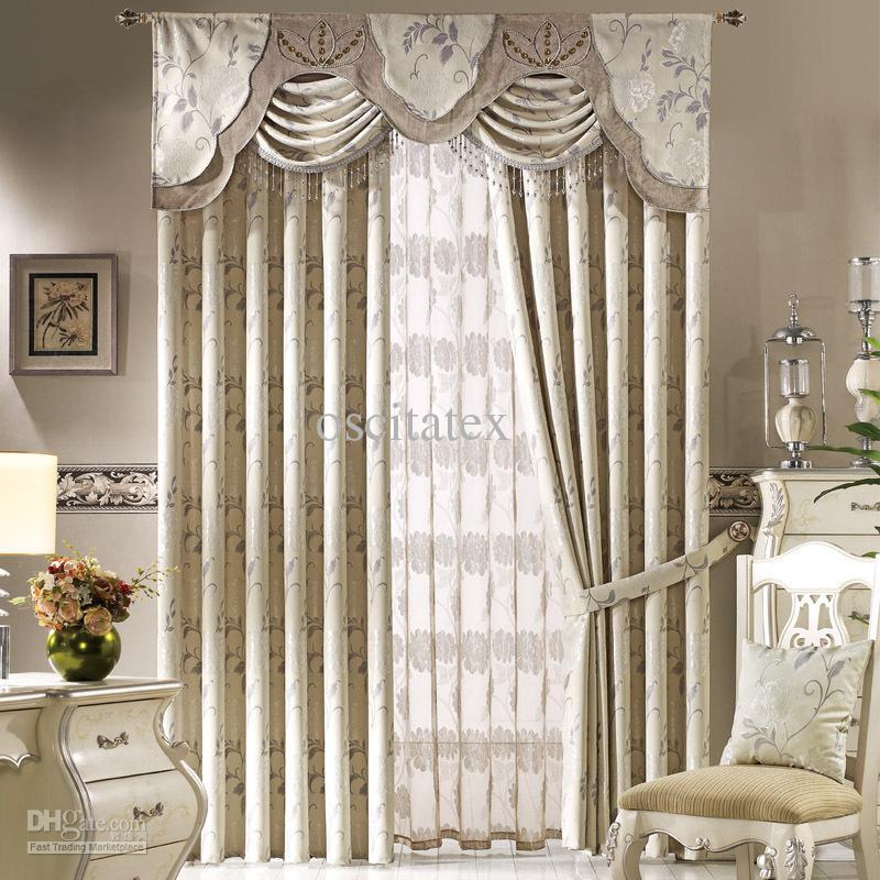 Living Room Curtains With Valances