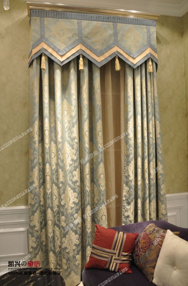 Living Room Valance Curtain Ideas