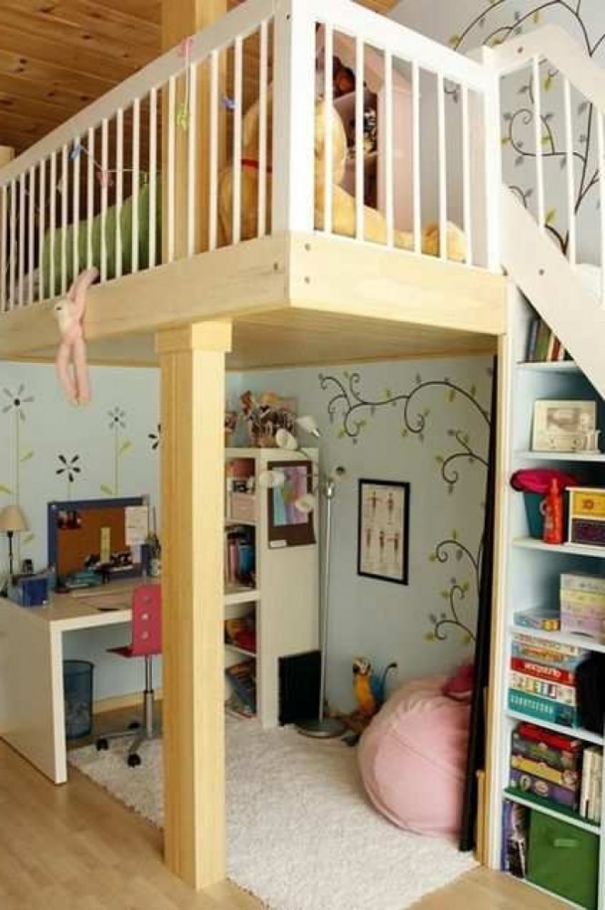 Loft Bed Kids Room