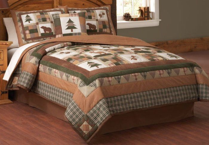 Log Cabin Comforter Sets