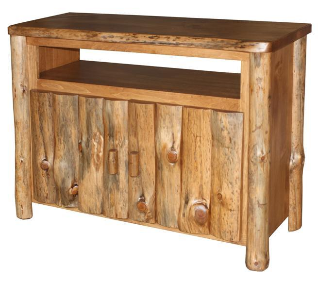 Log Furniture Tv Stand