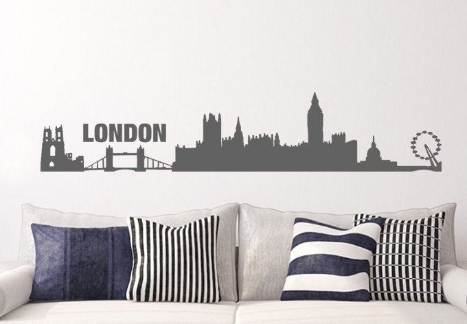 London Wall Decals