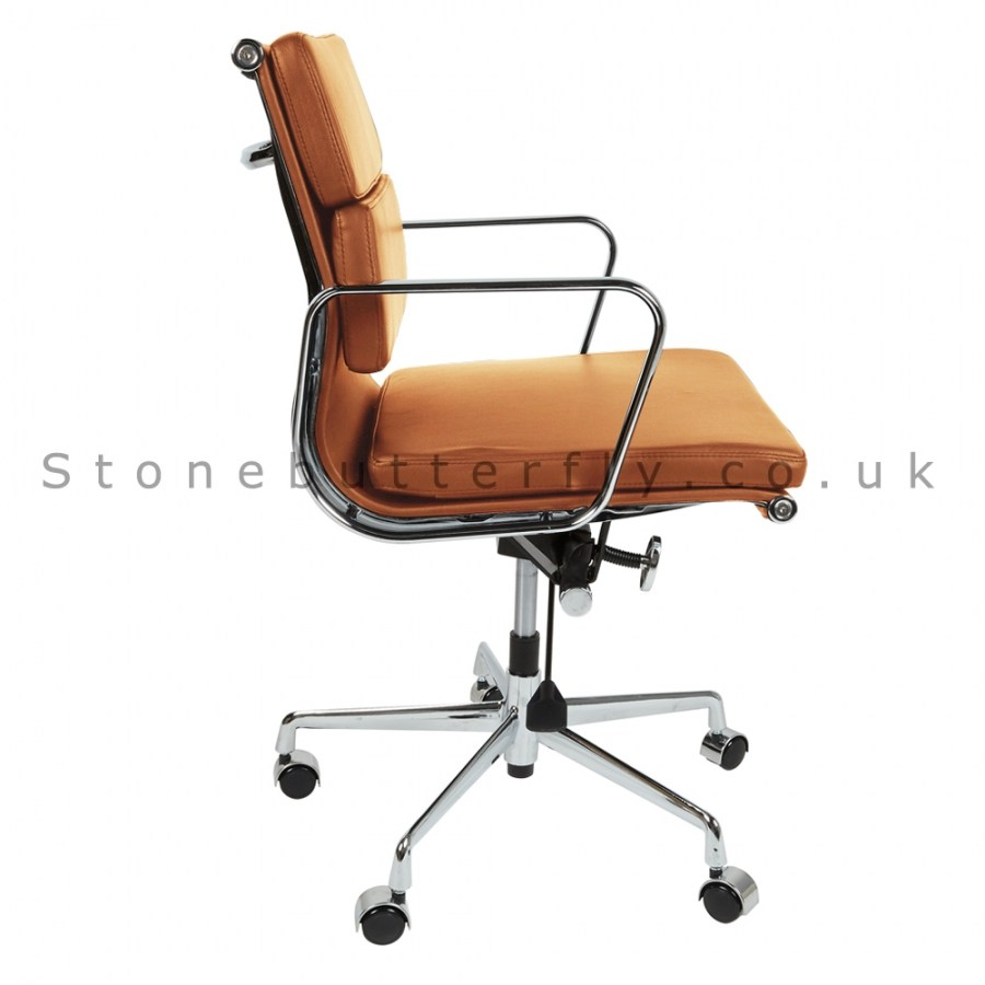 Low Back Office Chair Leather