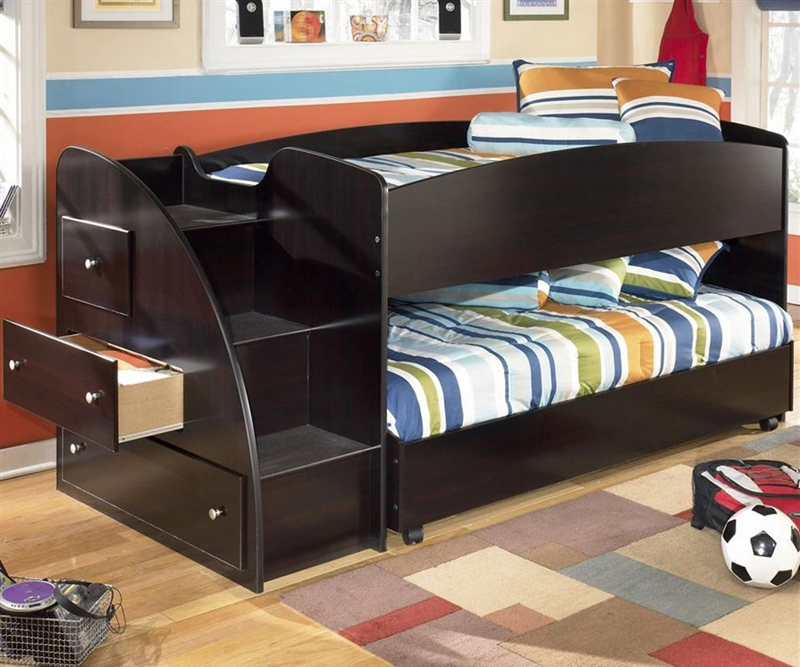 Low Loft Kids Bed