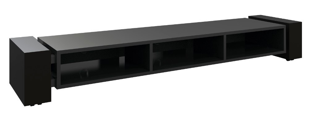 Low Tv Stand Black