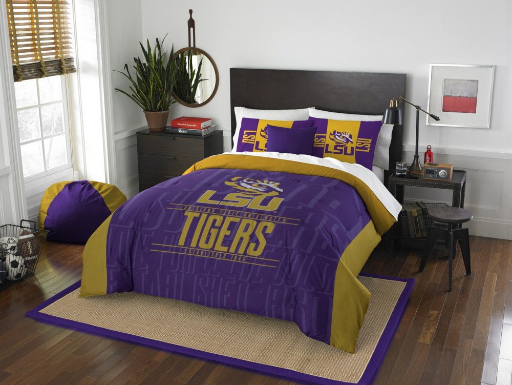 Lsu Queen Comforter Set