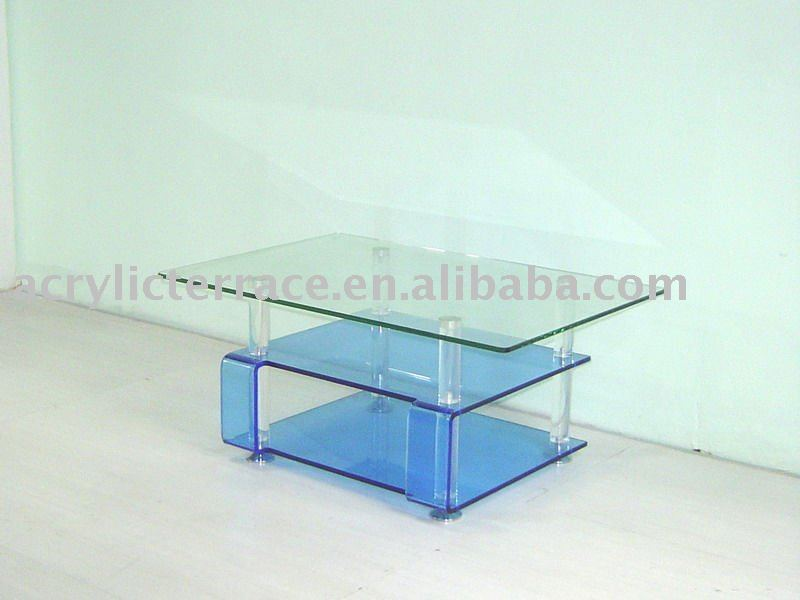 Lucite Tv Stand