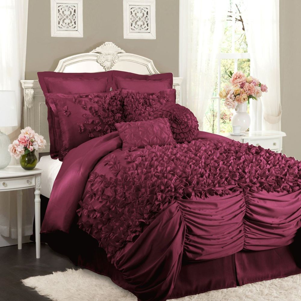 Lush Decor Lucia 4 Piece Comforter Set