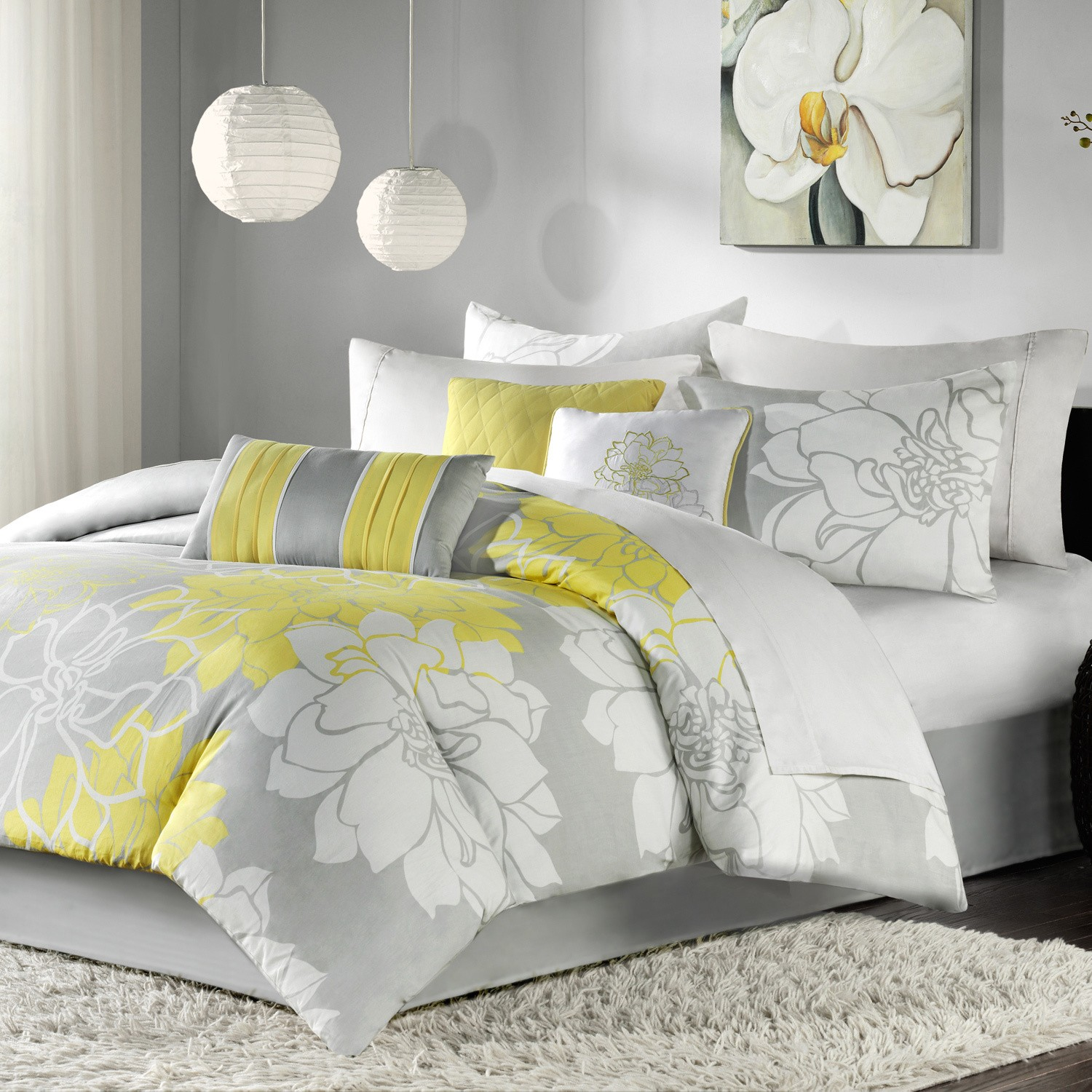 Madison Park Brianna 7 Piece Comforter Set