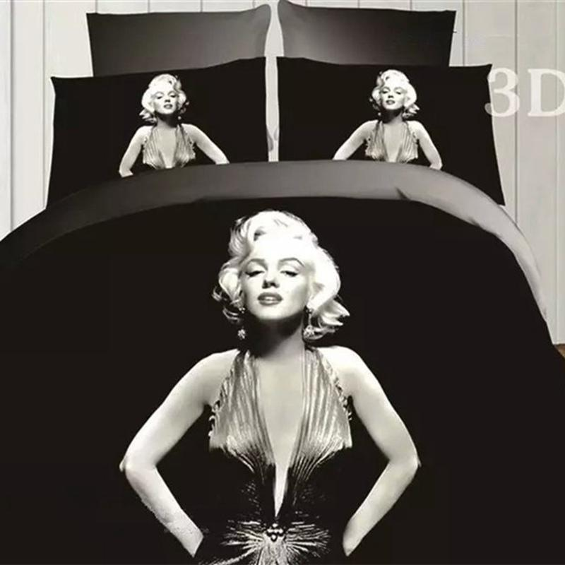 Marilyn Monroe Bed Comforter Set