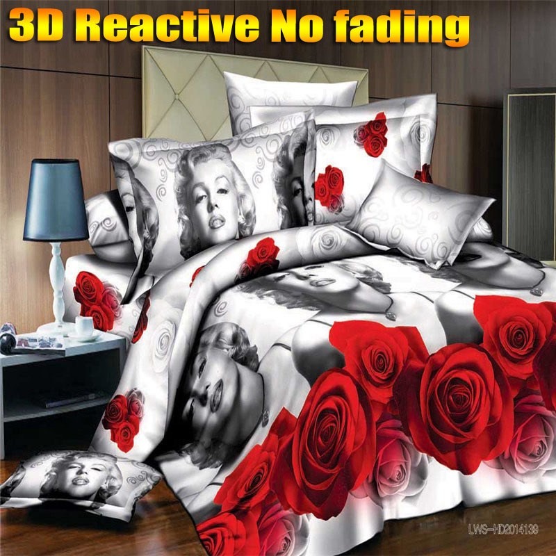 Marilyn Monroe Comforter Set King