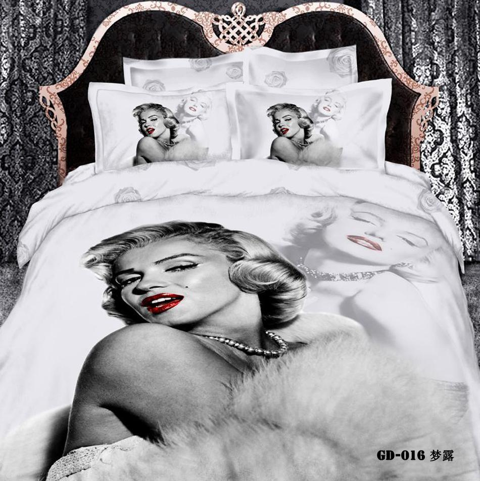 Marilyn Monroe Comforter Set Queen