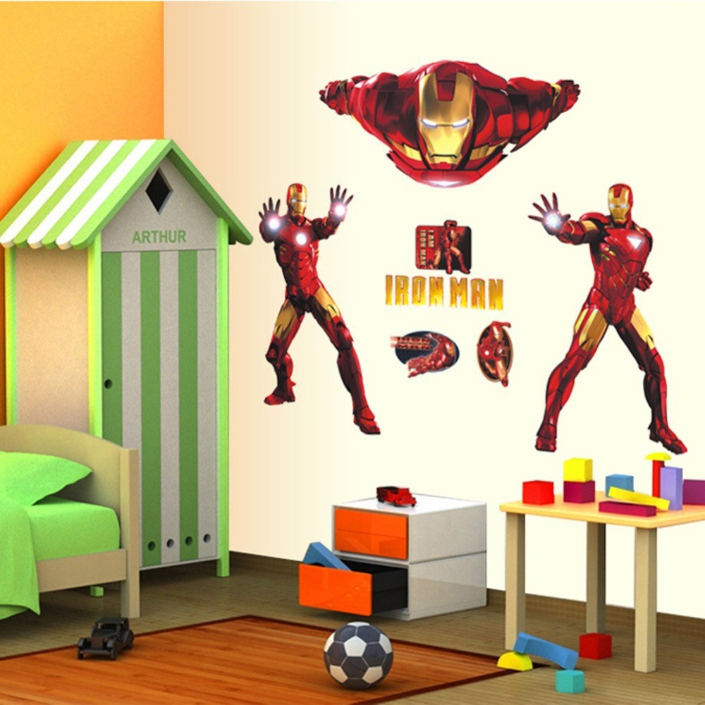 Marvel Wall Decals Large