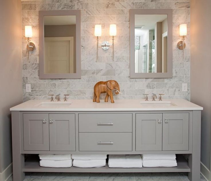 Master Bathroom Cabinets Ideas