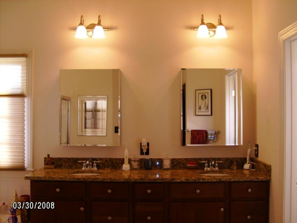 Master Bathroom Cabinets Photos