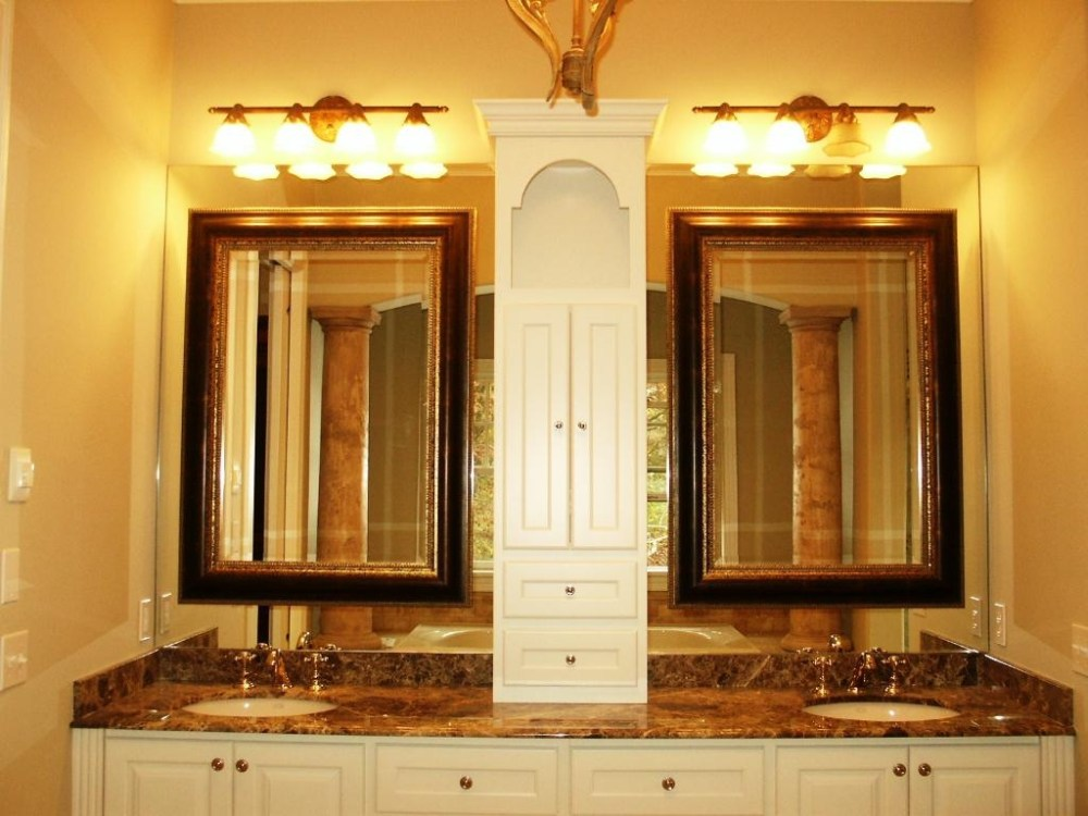 Master Bathroom Mirrors Ideas