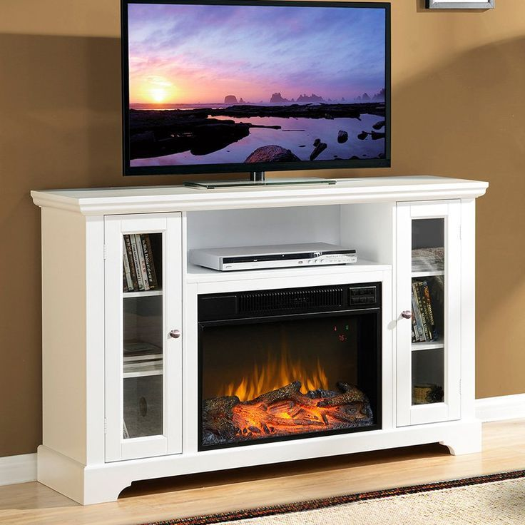 Media Tv Stand Fireplace