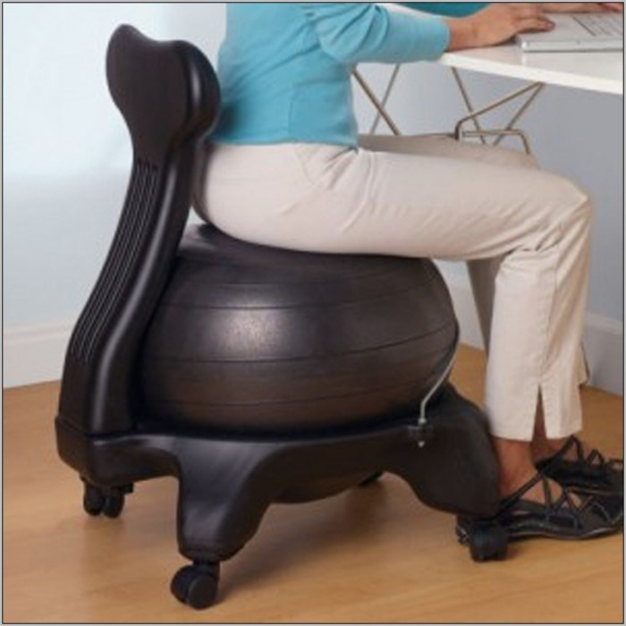 Medicine Ball Office Chairs