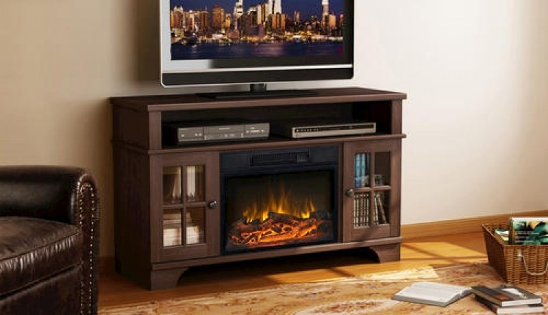 Menards Tv Stand Fireplace
