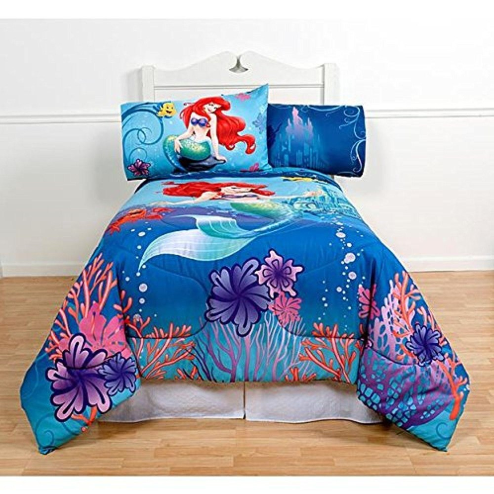 Mermaid Comforter Set Full