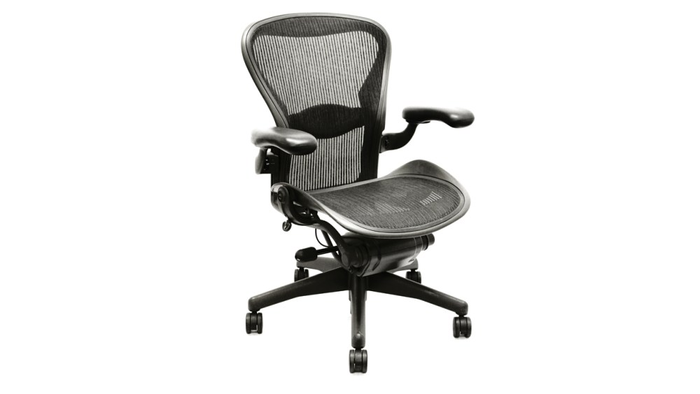 Mesh Bottom Office Chair