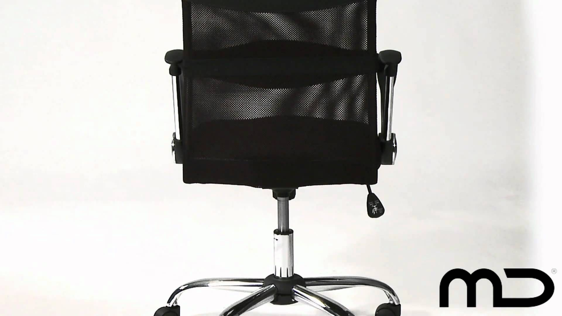 Mesh Ergonomic Office Chair Black Medium Back