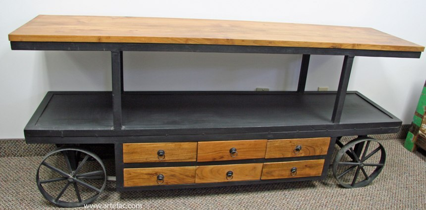 Metal Tv Stand On Wheels
