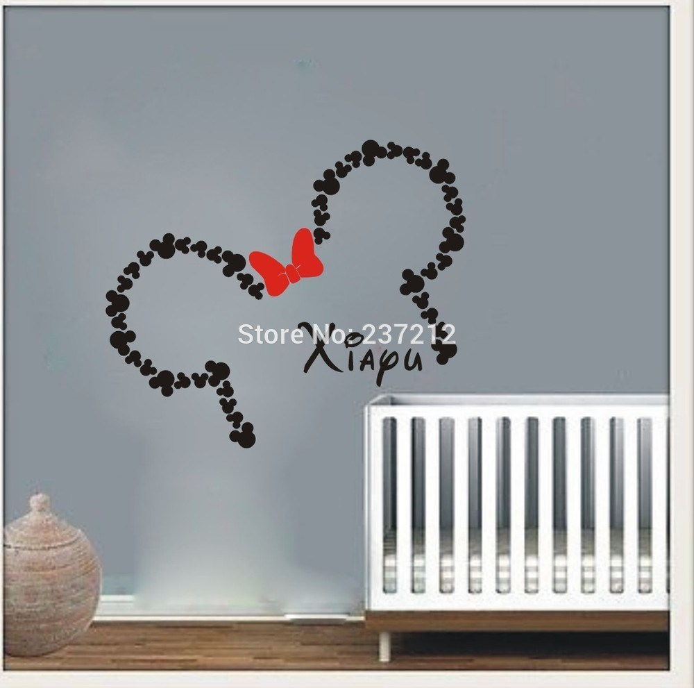 Mickey And Minnie Wall Decals
