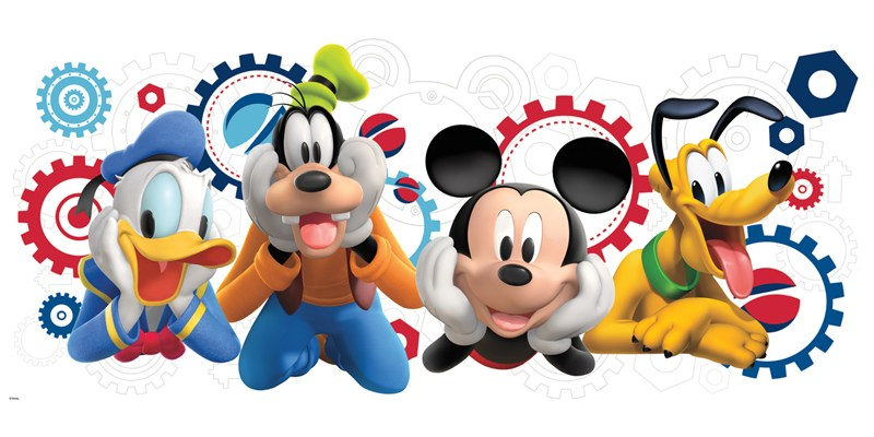 Mickey Mouse Clubhouse Wall Decals