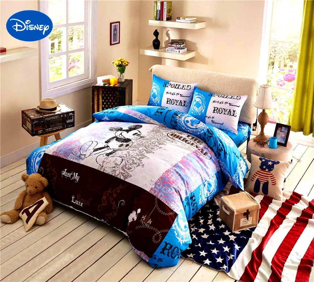Mickey Mouse Comforter Set Full