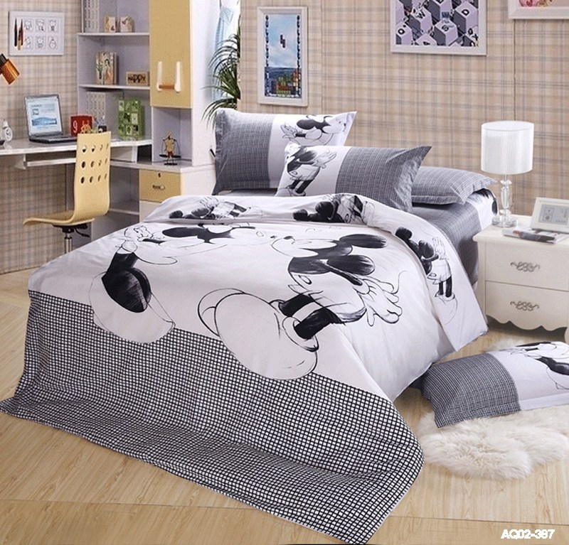 Mickey Mouse Comforter Set King