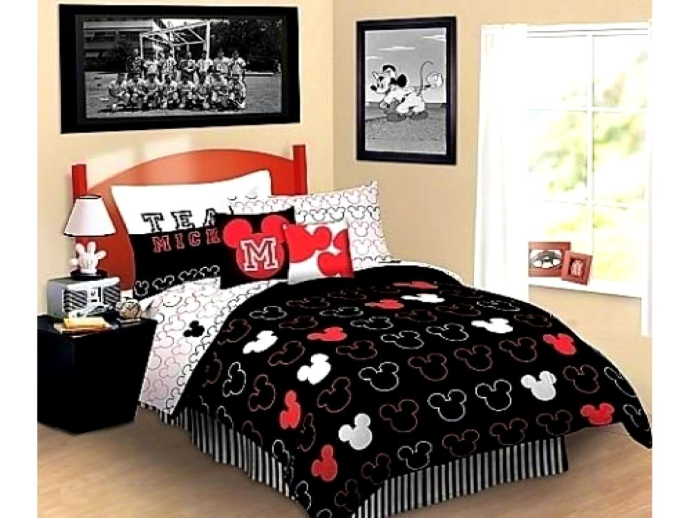 Mickey Mouse Comforter Set Queen