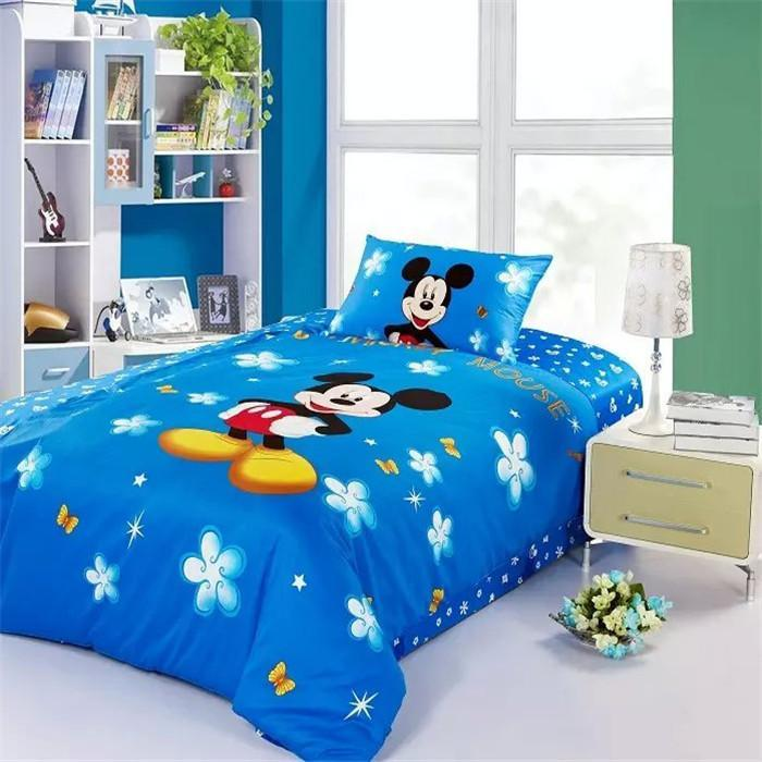 Mickey Mouse Comforter Set Twin Bed