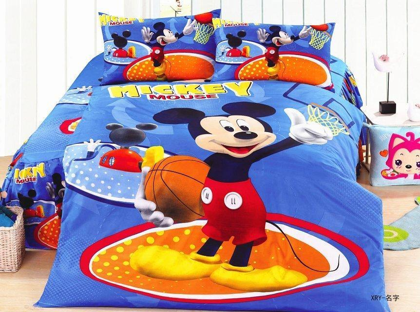 Mickey Mouse Twin Comforter Set