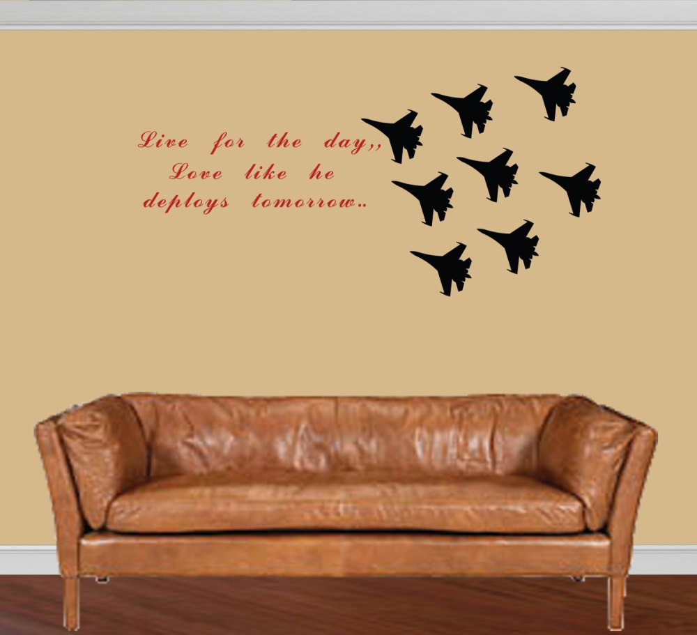 Military Wall Decals Quotes